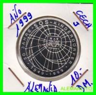 ALEMANIA  - BRD  - MONEDA DE 10 DM  PLATA  S/C  AÑO 1999-J PROOF - [10] Conmemorativas