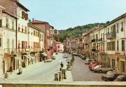 Millesimo (SV) - Piazza Italia (animata Con Auto) - Italia
