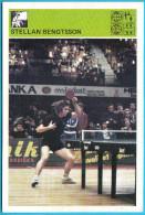 STELLAN BENGTSSON - Table Tennis , Sweden  ( Yugoslavia Old Card Svijet Sporta ) Tennis De Table Ping Pong Tischtennis - Table Tennis