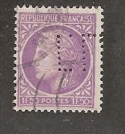 Perforé/perfin/lochung France No 679 T.L.  Tanneries Lyonnaises - France