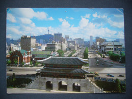 Korea South: Sejongno Street - Postmark Olympic Torch Relay - Posted 1988 - Corea Del Sud