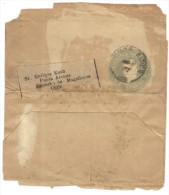 ARGENTINA - Wrapper - 4 Centavos - Intero Postale - Entier Postal - Postal Stationery - Viaggiata Da Buenos Aires Per... - Interi Postali