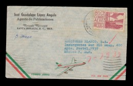 E)1979 MEXICO,  80 CTS, AIR MAIL, CIRCULATED COVER TO MEXICO D.F, INTERNAL USAGE, XF - Mexico