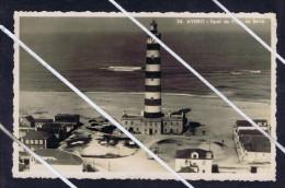AVEIRO Barra´s  Beach Phares Lighthoyses Faros 1952 Postcard Portugal 5699 - Aveiro