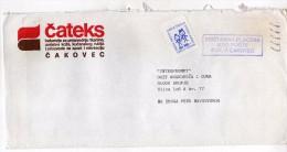 Yugoslavia,Croatia,Cakovec Letter. Stamp - Motive,topics - Children's Week - 1945-1992 République Fédérative Populaire De Yougoslavie