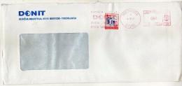 Yugoslavia,Slovenia Medvode Letter. Stamp Red Cross 1990 - METER MARK EMA FREISTEMPEL AFFRANCATURA ROSSA - 1945-1992 République Fédérative Populaire De Yougoslavie