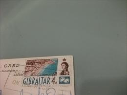 STORIA POSTALE FRANCOBOLLO COMMEMORATIVO GIBILTERRA GIBRALTAR PANORAMA  GIBRALTAR - Gibilterra
