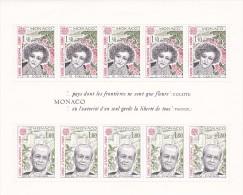 Monaco 1980 Europa Sheetlet MNH - Europa-CEPT