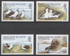 Falkland Islands Dependencies 129-32** ALBATROSSES - Südgeorgien