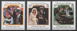 South Georgia 147-49** WEDDING OF PRINCE ANDREW AND SARAH FERGUSON - Südgeorgien