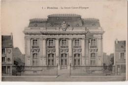 Provins  La Future Caisse D Epargne - Provins