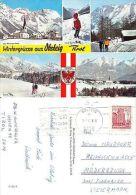 Oesterreich - Wintergrüsse Aus Obsteig - Schilift Kleine Schifahrerin  (S-L 109) - Ansichtskarten