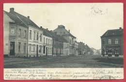 Asse / Assche - Statieplaats / Place de la Station - 1903 ( verso zien )