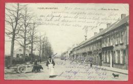 Ingelmunster - Place De La Gare -  Hondenkar - 1915  (verso Zien ) - Ingelmunster
