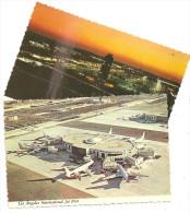 Los Angeles International Jet Port- Lot De 2 Cartes-(B.791) - Aerodrome