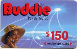 Nigeria Buddie $150 Recharge Card 2004 - Nigeria