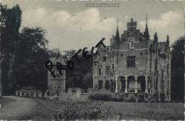 Herenthout   : Kasteel   Chateau   Herlaer - Herenthout