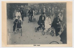 CPSM - BRUNOY (S Et O) - Une Noce - Vélos De Gervaise, La Pyramide à Brunoy - Brunoy