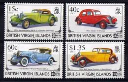 B.VIRGIN ISLANDS (Iles Vierges Brit) 1996 - Voitures Anciennes - 4v  Neufs*** (MNH SET) - British Virgin Islands