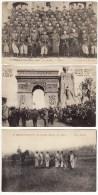 Carte Postale Mlitaria 4ème Régiment D´artillerie Au Polygone Manoeuvre De La Pièce 153e Régiment Infanterie Toul Fêtes - Manoeuvres