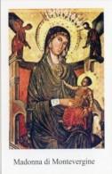 Mercogliano, Av - Santino MADONNA DI MONTEVERGINE - PERFETTO M23 - Religion & Esotericism