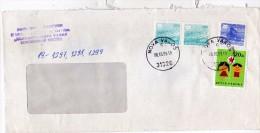 Yugoslavia Serbia Nova Varos - Letter 1989 Used Stamp Children's Week - 1945-1992 République Fédérative Populaire De Yougoslavie