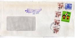 Yugoslavia Serbia Nova Varos - Letter 1989 Used Stamp Children´s Week - 1945-1992 République Fédérative Populaire De Yougoslavie