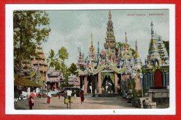 ASIE  - BIRMANIE - Rangoon - Great  Pagoda - Myanmar (Burma)