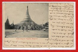 ASIE  - BIRMANIE - Rangoon -  Shwe Dagone Pagoda - Myanmar (Burma)