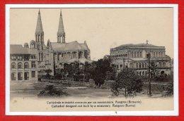 ASIE  - BIRMANIE - Rangoon - Cathédrale Et évéché... - Myanmar (Burma)