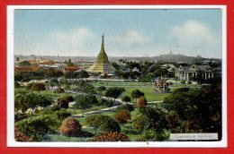 ASIE  - BIRMANIE -- Cantonment  Gardens - Myanmar (Burma)