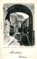 N°47271 -cpa Le Mont Saint Michel -porte Du Roi- - Le Mont Saint Michel