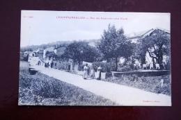 1 CP Champigneulles Rue Des Réservoirs (côté Nord) Animée, Village - France