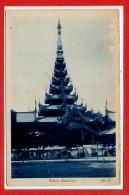 ASIE  - BIRMANIE -- Palace MANDALAY - Myanmar (Burma)