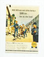 Autocollant , Centenaire LEE , 1989 - Autocollants