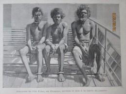 1896 L Ile Toné  Naturels Autochtones   Mis En Justice - Postcards