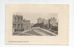 Cp , Angleterre , LOWER WARD , WINDSOR CASTLE ,  , Voyagée 1919