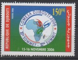 Djibouti Dschibuti 2006 Mi. 809 ** MNH Sommet COMESA Summit RARE ! - Dschibuti (1977-...)