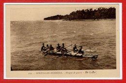 OCEANIE --  NOUVELLES HEBRIDES -- Pirogue De Guerre Ilot Toman - Vanuatu