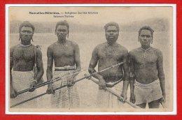 OCEANIE --  NOUVELLES HEBRIDES -- Indigène Des Iles Salomon - Vanuatu