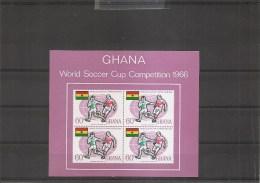 Coupe Du Monde En Grande-Bretagne -1966( BF 22 XXX -MNH- Du Ghana) - 1966 – Inglaterra