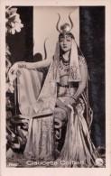 CINÉMA ANCIEN - ACTRICE : CLAUDETTE COLBERT - PHOTO Des ANNÉES 1920 - ´30 : ROSS - DIMENSIONS ~ 5 X 7 CM (t-707) - Actors