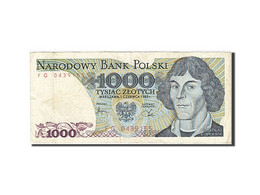Pologne, 1000 Zlotych, 1974-1976, KM:146c, 1982-06-01, TTB - Polen