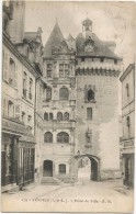 Loches L Hotel De Ville Tapissier Pharmacie  1903 ? - Loches