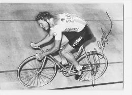 Robert DILL BUNDI, Champion Olympique , Autographe Manuscrit, Dédicace. 2 Scans. Cyclisme. Stockli - Cycling
