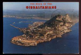 B859 GIBRALTAR - GENERAL VIEW - Gibilterra