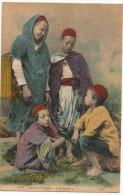Scenes Et Types Yaouleds 1927 ? - Algeria