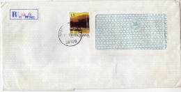Yugoslavia Serbia Kosovo Pristina Registered Letter.stamp Motive Danube,boats - 1945-1992 République Fédérative Populaire De Yougoslavie