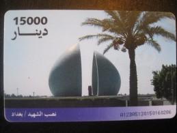 Télécarte Irak - Iraq