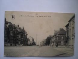 Ecaussines-Carrières - Le Quartier De La Gare // 1917 Feldpost Ed S.D.
